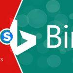 Le carrousel d'images de Bing affiche le titre et le domaine de la page