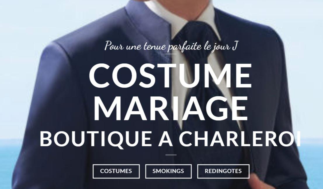 ongi costumes mariage hommes charleroi